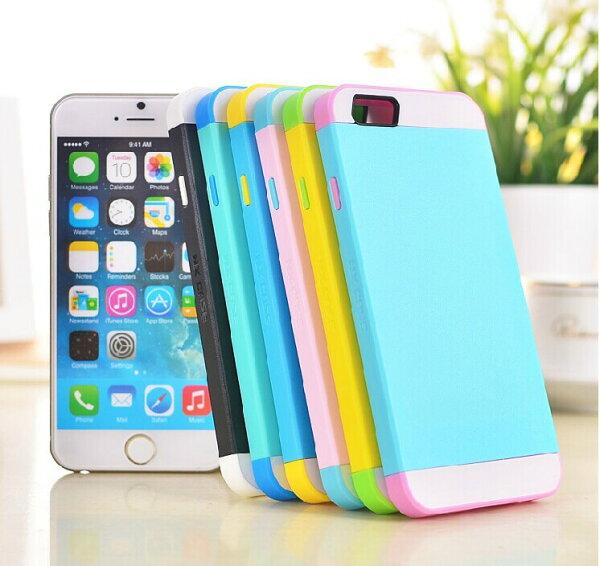蘋果iphone6 4.7吋保護套 NX CASE諾訊拼色三合一手機殼 Apple iPhone 6 手機套 時尚雙色保護殼