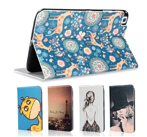 三星Galaxy Tab Pro10.1 平板彩繪皮套 MSPB0011 MyColor 彩繪保護殼 T520 卡通保護套【預購】
