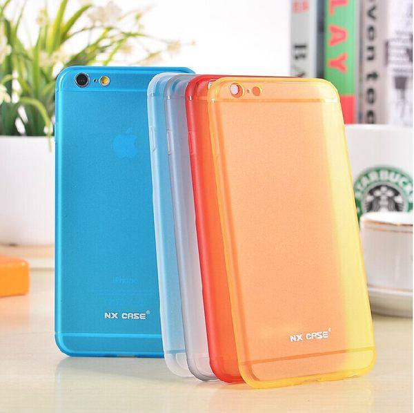 蘋果 iPhone 6 plus 5.5吋 保護套 NX CASE諾訊羽系列矽膠手機殼 Apple iphone6 plus超薄保護殼0.5mm外殼【預購】
