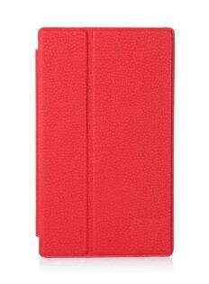 索尼Xperia Z3 tablet compact保護套 文逸多角度支撐 超柔軟磨砂荔枝紋平板皮套 SGP621休眠 皮套【預購】