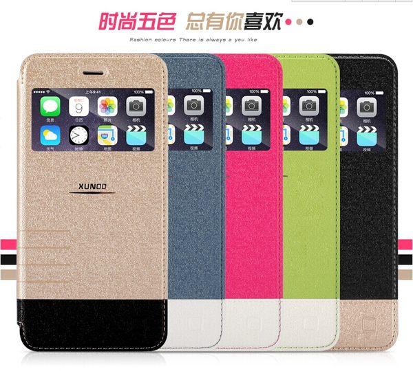 蘋果 iPhone 6 plus 5.5吋 保護套 訊迪Xundd海市蜃樓系列開窗手機套 Apple iPhone6 plus支架皮套【預購】