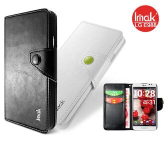 LG Optimus G Pro E988 艾美克IMAK天恆皮套(R64紋)手機保護皮套 保護殼