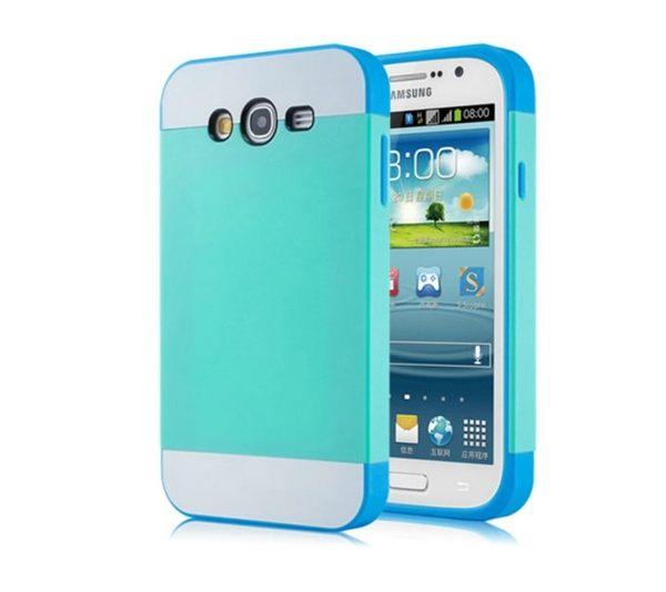 ☆三星Galaxy Grand Duos i9082 NX CASE諾訊拼色三合一手機殼i9080 i9060時尚雙色組合式保護殼