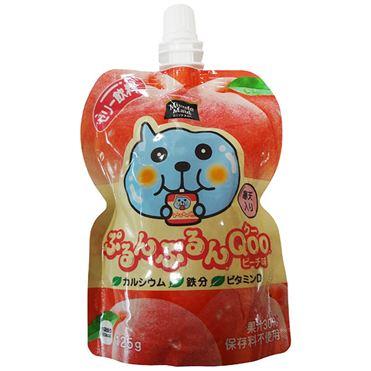 有樂町進口食品 日本 寒天果凍飲 葡萄/青葡萄/柳橙/水蜜桃 4902102100519 3