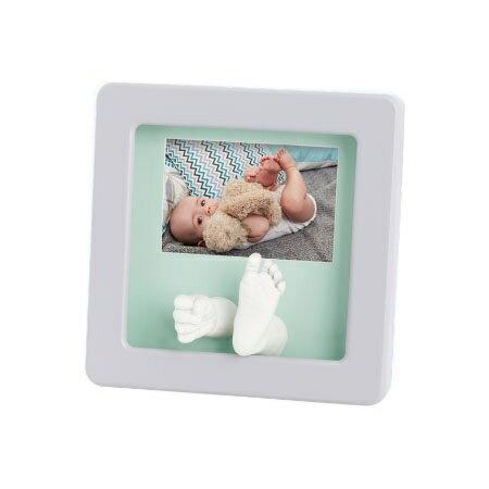 比利時【Baby Art】寶寶手腳雕塑相框(白) 0