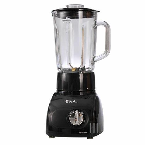 貴夫人果汁研磨調製機(FP-605G) 黑色
