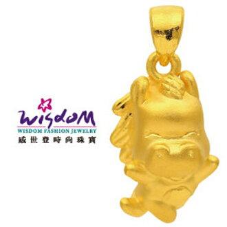 3D硬黃金立體千足金 12生肖馬 0.54錢 手鍊 項鍊 推薦禮物 特價優惠款
