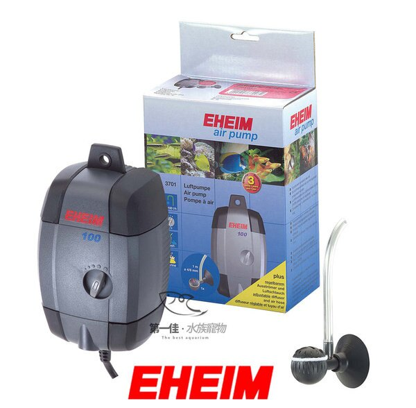 """[第一佳水族寵物] """"打氣機 空氣機""""德國伊罕EHEIM 超靜音空氣馬達(打氣幫浦) [100型-3701] 免運"""