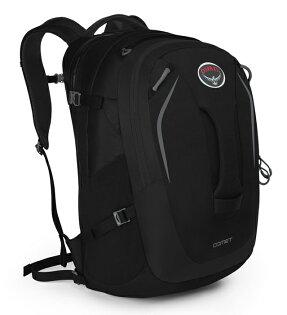 【鄉野情戶外用品店】 Osprey |美國|  Comet 30 電腦背包/旅行背包 城市背包-黑/Comet30 【容量30L】