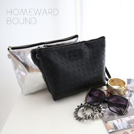 泰國設計師品牌 HOMEWARD BOUND斜肩包 鍊條側背 迷你手拿包 手機包 萬用包【N100049】