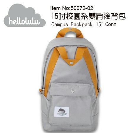 """Hellolulu 後背包 可裝單眼相機+筆電 Conn 50072-02 灰色 """"正經800"""""""