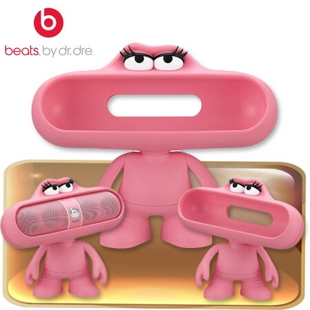 Beats Pill Character造型保護套(粉) 先創公司貨 保固一年