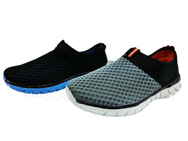 Arriba fa-435 休閒鞋 懶人鞋 便鞋 帆布鞋  灰橘/ 黑藍色款 男鞋