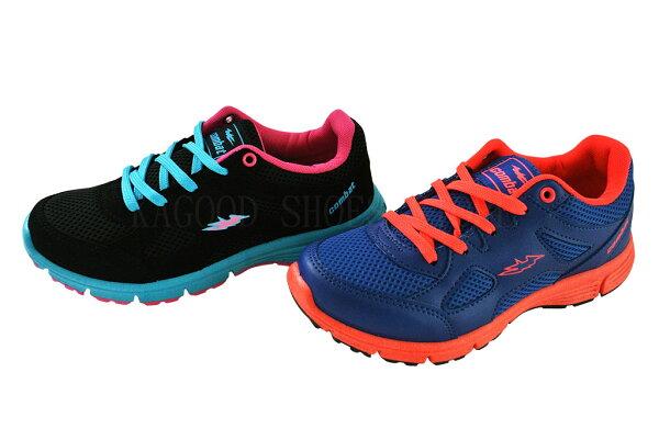 Combat FA437 休閒鞋 運動鞋 黑/藍色款 女鞋