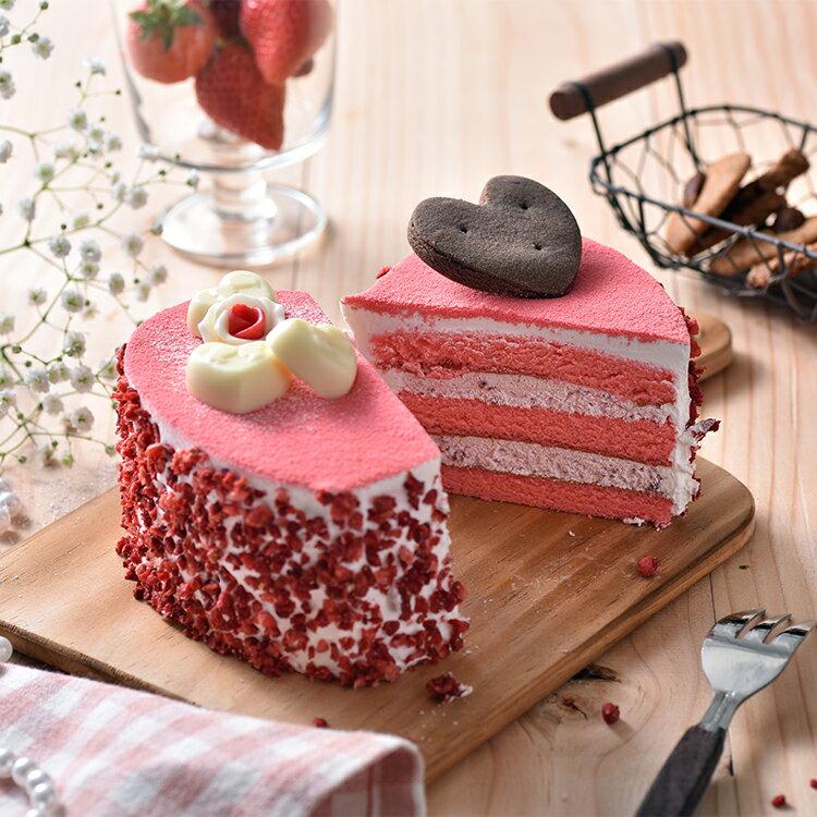 心心相印草莓蛋糕(6吋)★免運★蘋果日報 母親節蛋糕【布里王子】需五天前預訂 2