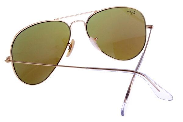 Ray Ban 雷朋 水銀鍍膜金邊藍鏡 太陽眼鏡 RB3025 7