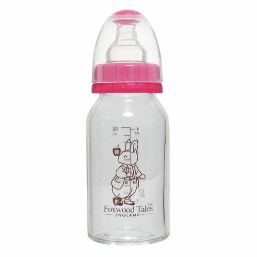 『121婦嬰用品館』狐狸村 真母乳一般口徑玻璃奶瓶240ml 1