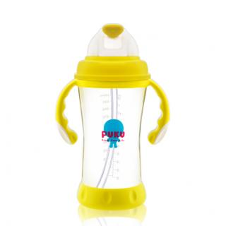 『121婦嬰用品館』PUKU 太空滑蓋吸管練習杯 320ml 0