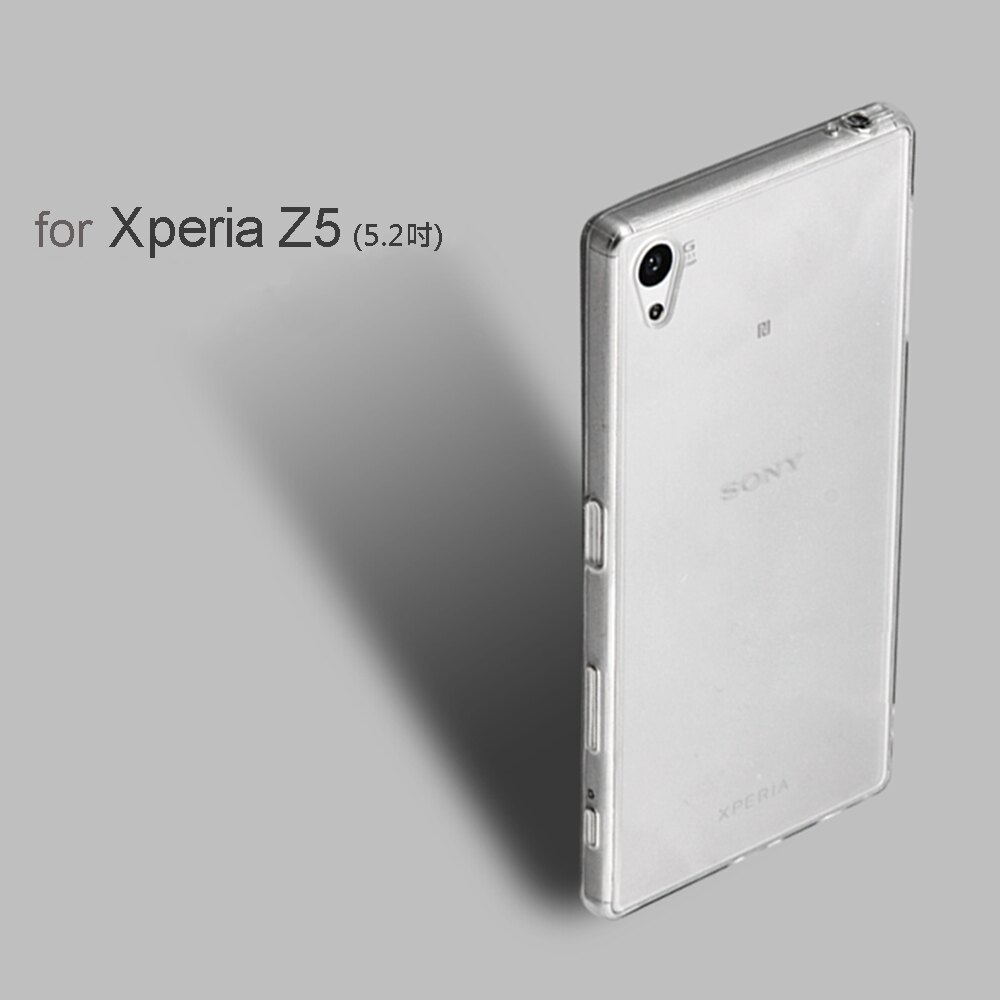 Sony Z5 高質感雙料材質 透明TPU+PC手機殼/保護套 0