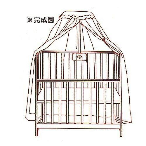 『121婦嬰用品館』baby city 嬰兒床蚊帳 -白 2