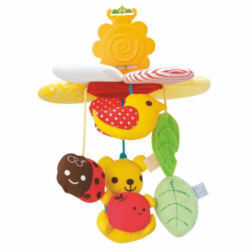 ★衛立兒生活館★康貝 Combi 抱抱熊吊掛式汽座推車玩具