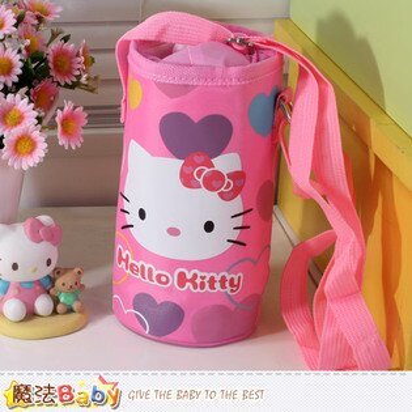 Hello Kitty授權正版保溫保冷水壺袋 魔法Baby~ekt3341
