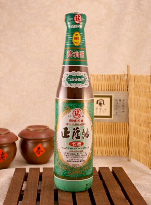 ~瑞春醬油~竹級醬油膏^~六瓶裝^~ ~  好康折扣