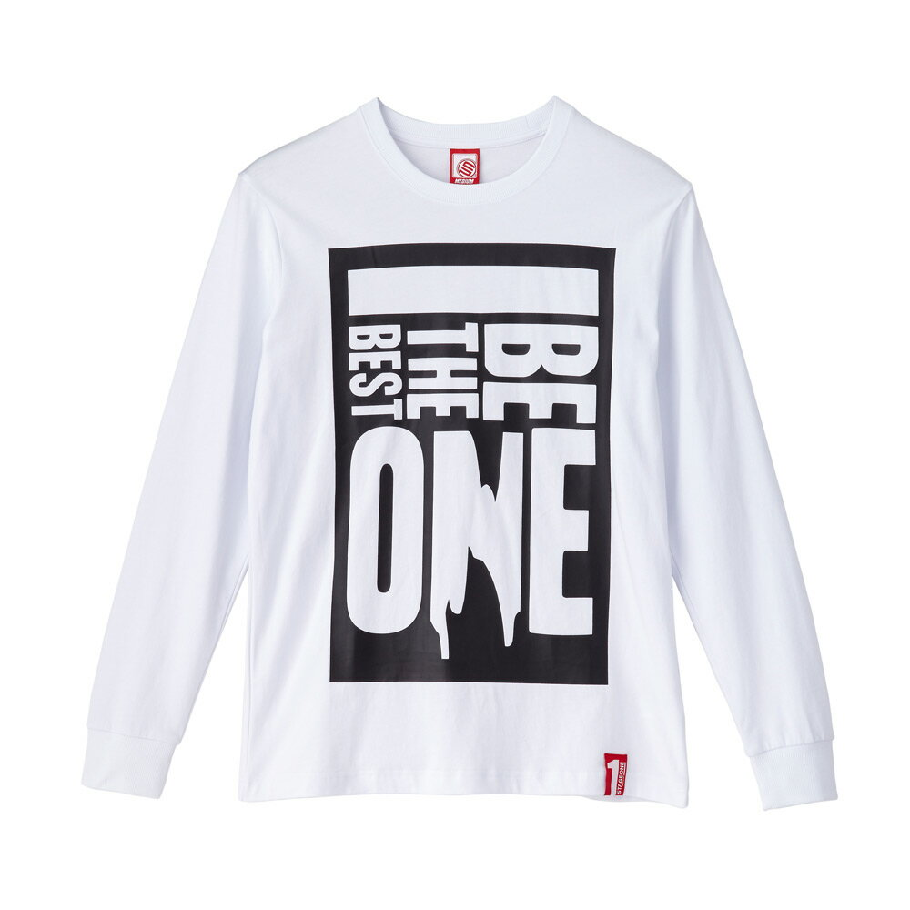 STAGEONE BE THE BEST ONE LS TEE 黑色 白色 兩色 2