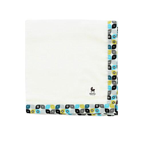 【安琪兒】韓國【 Borny 】有機棉多功能紗巾(滴答點) 0