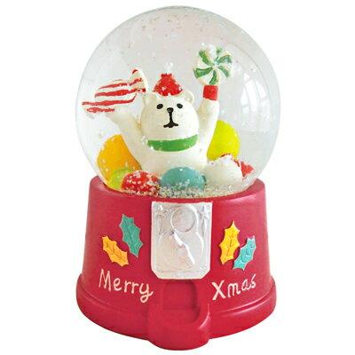 歡樂聖誕糖果派對水晶球