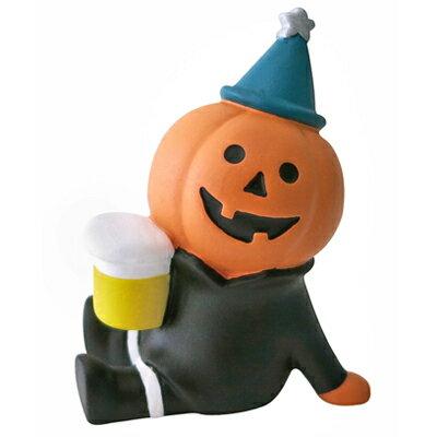 日本Decole加藤真治公仔 Concombre 搗蛋萬聖化妝舞會-微醺啤酒 萬聖節擺飾/萬聖節玩偶◤apmLife生活雜貨◢
