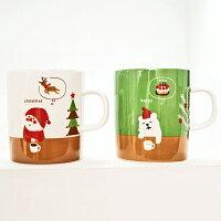 2入一組聖誕美夢歡慶對杯組 ◤apmLife生活雜貨◢