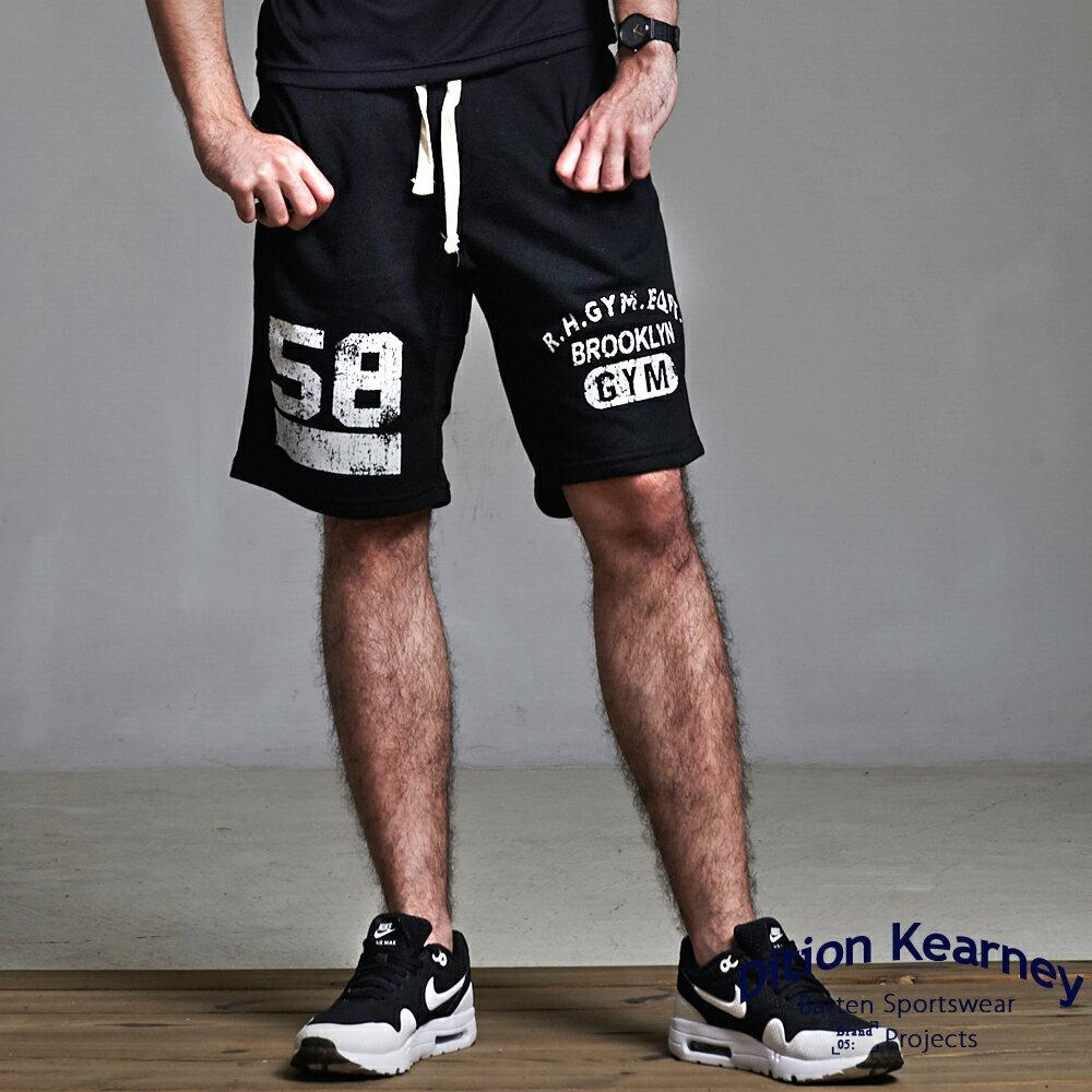 DITION 美式BROOKLYN水洗棉褲 低檔抽繩健身 1