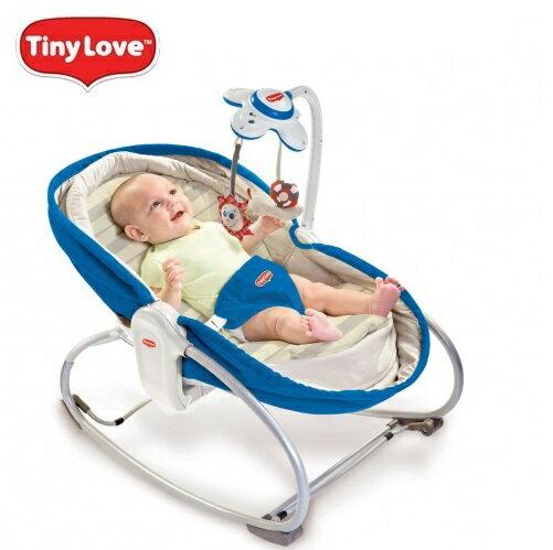 【安琪兒】【Tiny Love】Rocker- Napper 3-in-1 搖椅(藍/咖/紅) 0