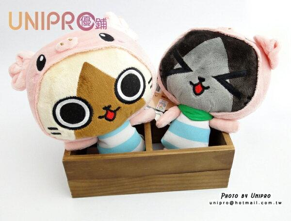 UNIPRO 艾路貓 梅拉路 正版授權 貓咪 小豬 吸盤 絨毛 吊飾 絨毛玩偶 娃娃 cosplay