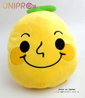 【UNIPRO】LINE人氣貼圖 微笑 香蕉人 抱枕 午安枕 靠枕 絨毛娃娃 玩偶 30公分