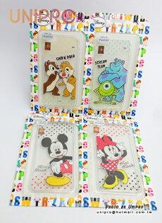 【UNIPRO】iPhone 6 plus 5.5吋 迪士尼卡通 米奇 米妮 怪獸大學 奇奇蒂蒂 透明 TPU 手機殼 保護套