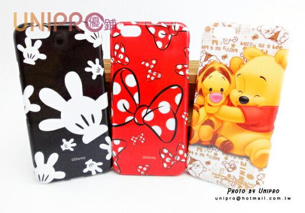 【UNIPRO】迪士尼 iPhone6 4.7吋 小熊維尼 米奇 米妮 TPU 手機殼 保護套