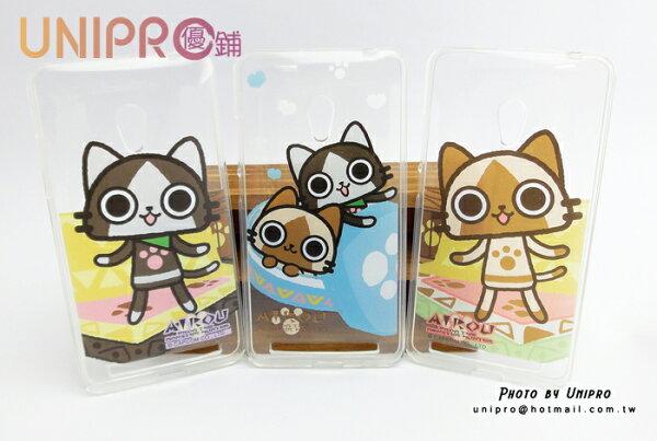 【UNIPRO】華碩 ASUS ZenFone 6 AIROU 艾路貓 梅拉路 TPU 透明 超Q貓咪 手機殼