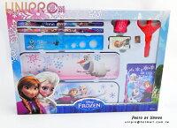 【UNIPRO】迪士尼 冰雪奇緣 FROZEN ELSA ANNA 雪寶 兒童文具組 開學用品 正版 禮物