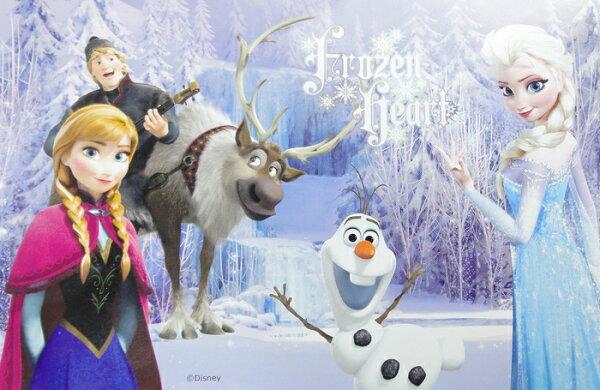 【UNIPRO】迪士尼 冰雪奇緣 FROZEN ELSA ANNA 雪寶 野餐墊 薄毯 小被毯 BABY毯