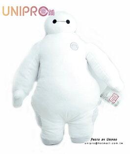 【UNIPRO】迪士尼 大英雄天團 Big Hero 6 杯麵 造型玩偶 中 絨毛娃娃 玩偶 52*35cm