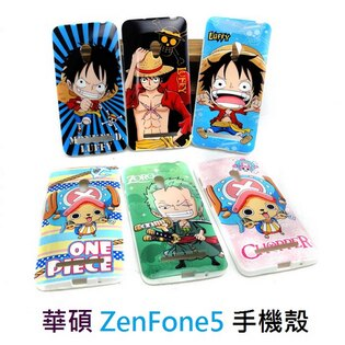 【UNIPRO】華碩 ASUS ZenFone5 航海王 One Piece 手機殼 TPU 保護套 海賊王 魯夫 索隆 喬巴 A500CG A501CG