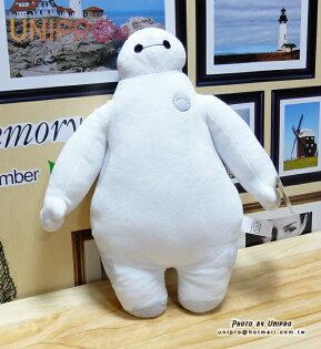 【UNIPRO】大英雄天團 10吋 杯麵 BayMax 玩偶 絨毛娃娃 抱枕 正版授權 Big Hero 6