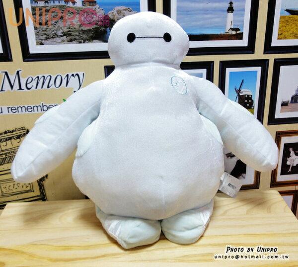 【UNIPRO】大英雄天團 Big Hero6 杯麵 BayMax 18吋 絲絨毛玩偶 亮面 娃娃 暖手枕 抱枕 迪士尼正版授權