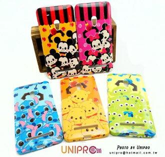 【UNIPRO】迪士尼 ASUS ZenFone6 史迪奇 小熊維尼 米奇 米妮 三眼怪 TPU 手機殼 保護套