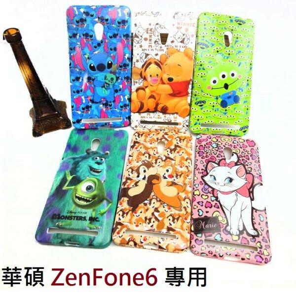 【UNIPRO】華碩 ASUS ZenFone6 迪士尼 史迪奇 小熊維尼 怪獸大學 奇奇蒂蒂 瑪麗貓 三眼怪 TPU 手機殼 保護套