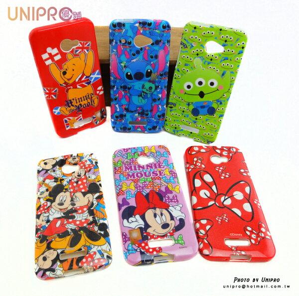 【UNIPRO】HTC Butterfly x920d 蝴蝶機 迪士尼 米奇 米妮 小熊維尼 史迪奇 三眼怪 米妮蝴蝶結 米妮 TPU 手機殼
