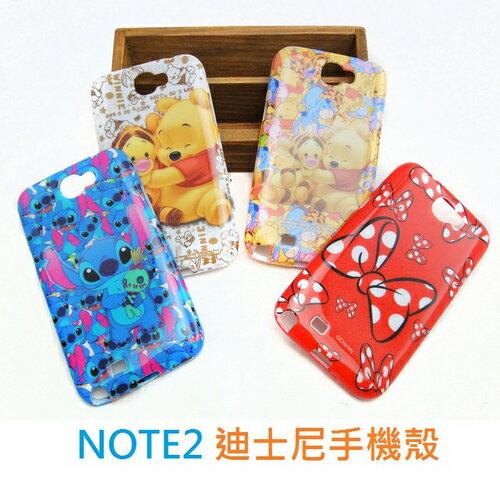 【UNIPRO】迪士尼 Samsung Galaxy NOTE2 N7100 史迪奇 三眼怪 手機殼 保護套 TPU 軟殼