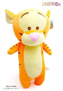 【UNIPRO】迪士尼 跳跳虎 12吋 造型長枕 抱枕 玩偶 娃娃 小熊維尼的朋友